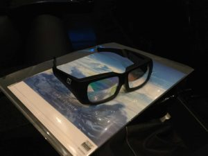 3D眼鏡画像