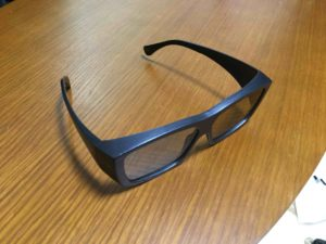 IMAXの3Dメガネ