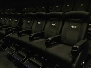 4DX with ScreenX 席